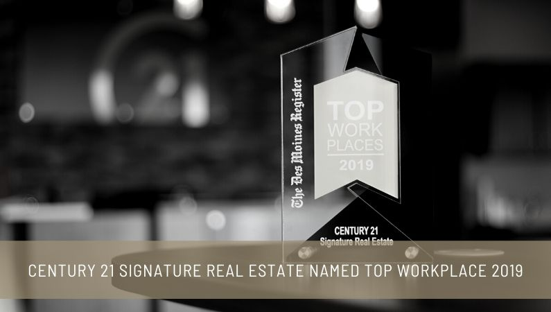 CENTURY 21 Signature Real Estate Named Top Workplace 2019