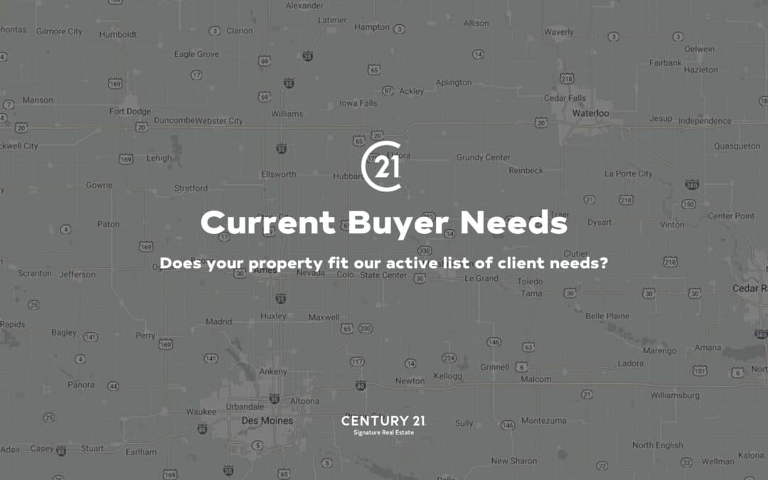 buyer needs
