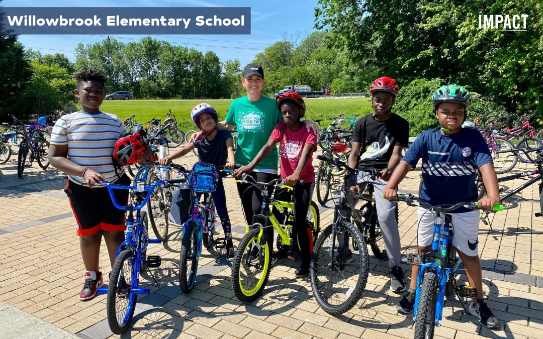 C21 Impact Donates Bikes and Helmets to ESOL Students in Des Moines