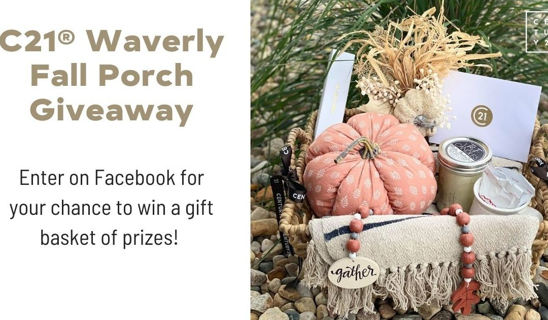 C21 Giveaway: Fall Porch Contest in Waverly